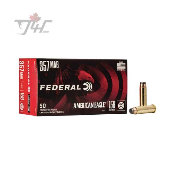 Fed. American Eagle .357MAG 158gr. JSP 50rds