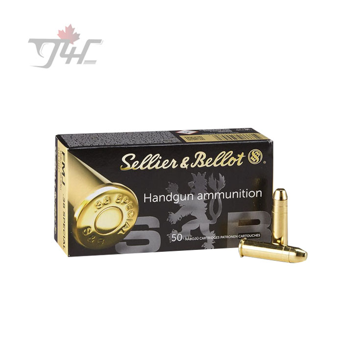 Sellier&Bellot .38Special 158gr. FMJ