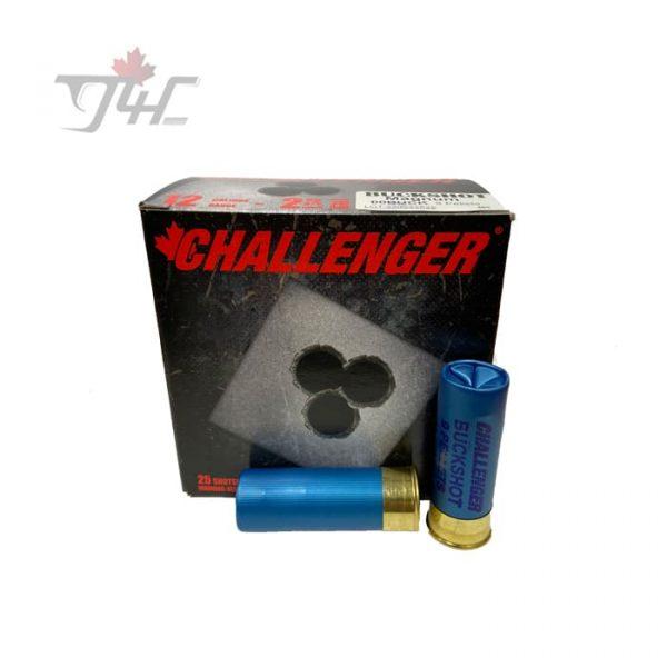 Challenger 12Gauge Magnum 00Buck 9 Pellets 2-3/4inch 25rds