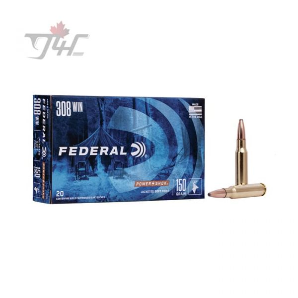 Federal Power-Shok .308WIN 150gr. SP 20rds