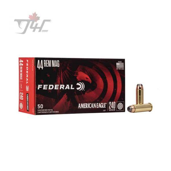 Fed. American Eagle .44MAG 240gr. JSP 50rds