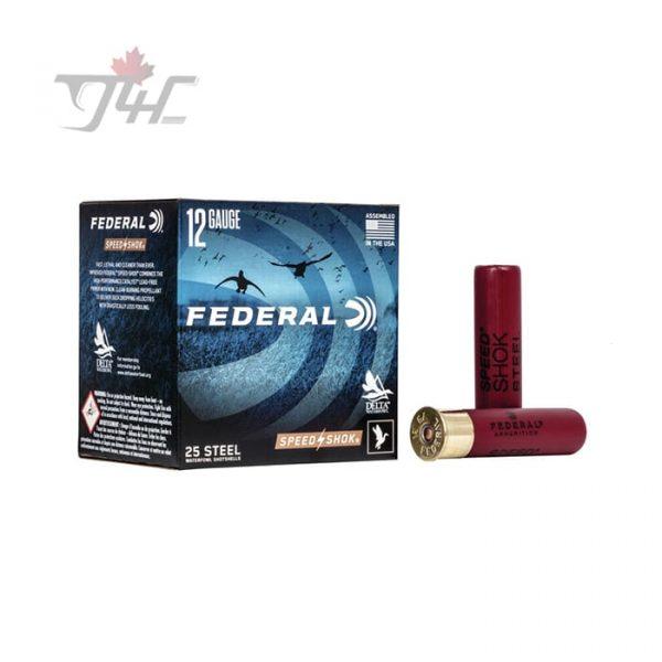 Federal Speed-Shok 12Gauge Steel/Acier 3-1/2inch 1-3/8oz. #2 Shot 25rds
