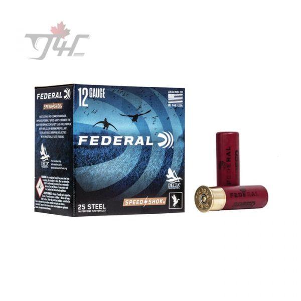 Federal Speed-Shok 12Gauge Steel/Acier 3inch 1-1/4oz. #2 Shot 25rds