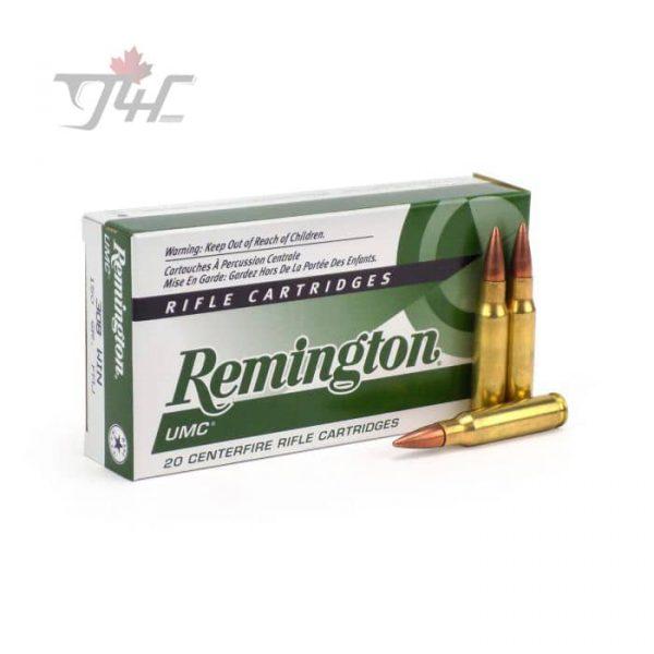 Remington UMC .308WIN 150gr. FMJ 20rds