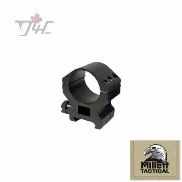 Millett-30mm-Tube-Tactical-Rings-with-Accessory-Rail-High