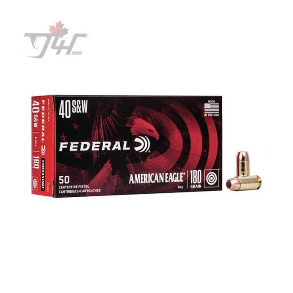 Federal American Eagle .40S&W 180gr. FMJ 50rds