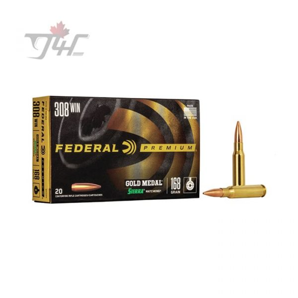 Federal Premium Tactical Law Enforcement .308WIN 168gr. Tactical Tip Matchking 20rds