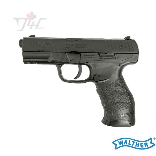 """Walther Creed 9mm 4.25"""" BRL Black"""