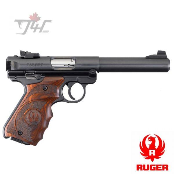 """Ruger Mark IV Target .22LR 5.5"""" BRL Black"""
