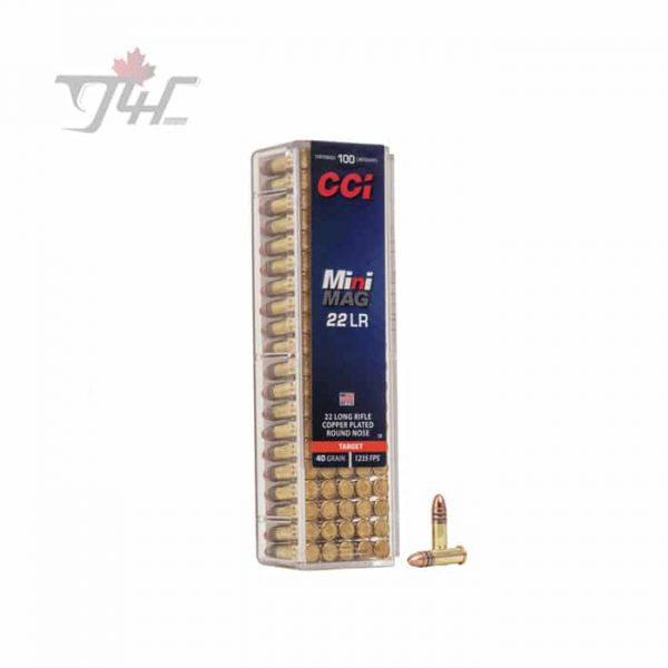 CCI .22LR Mini-Mag 40gr. CRN 100rds