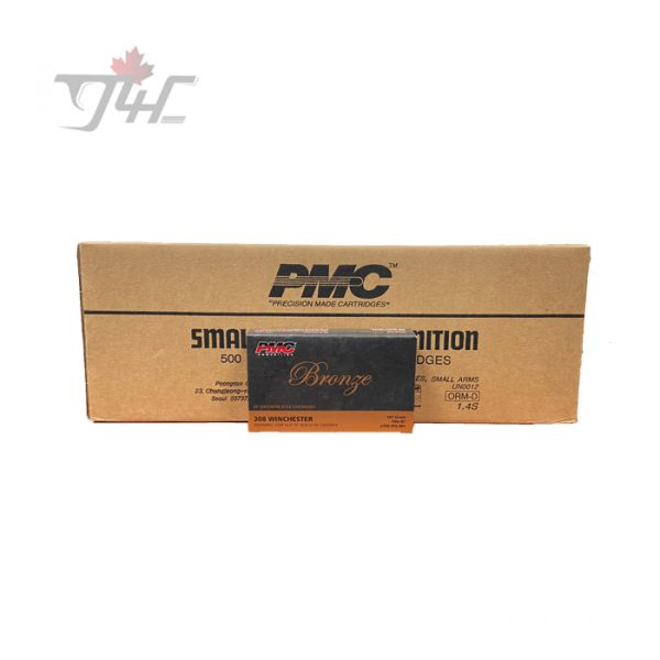 PMC Bronze .308 Win 147gr. FMJ-BT 500rds
