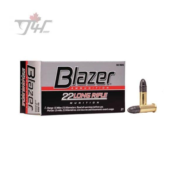 CCI Blazer .22LR 40gr. LRN 50rds