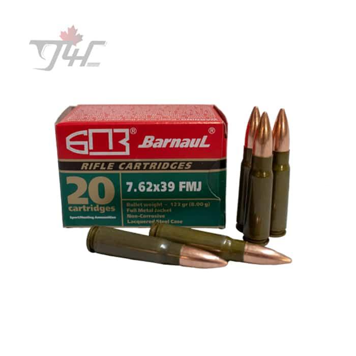 Barnaul 7.62x39mm 123gr. FMJ 20rds