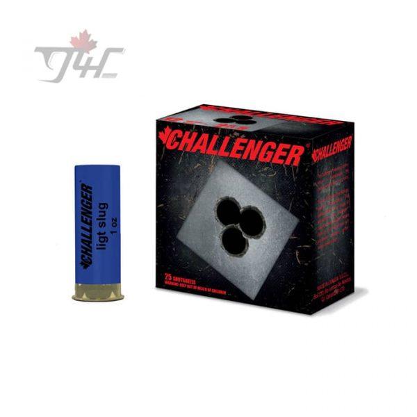 Challenger 12Gauge Rifled Slug 2-3/4inch 25rds