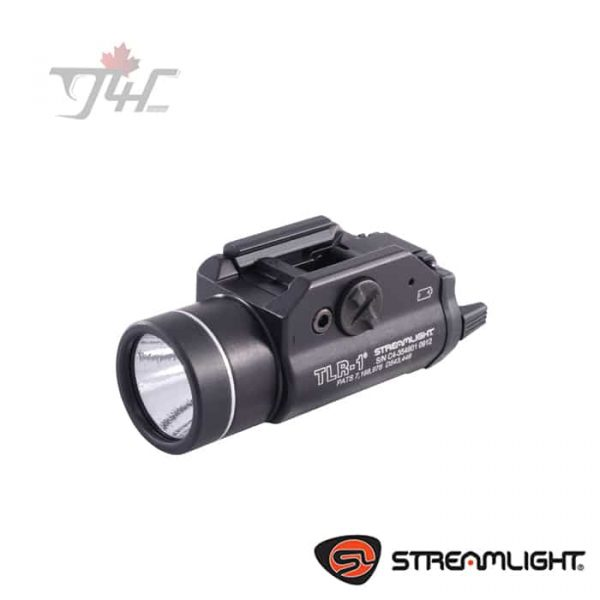 Streamlight TLR-1 Rail Mounted Tactical LED Flashlight 300Lumens BLK
