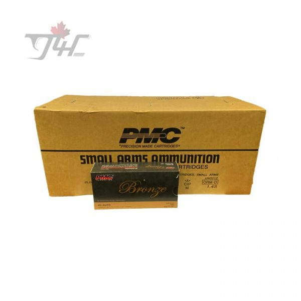 PMC Bronze .45Auto 230gr. FMJ 1000rds