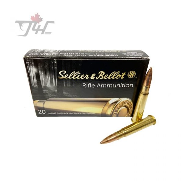 Sellier & Bellot .303British 180gr. FMJ 20rds