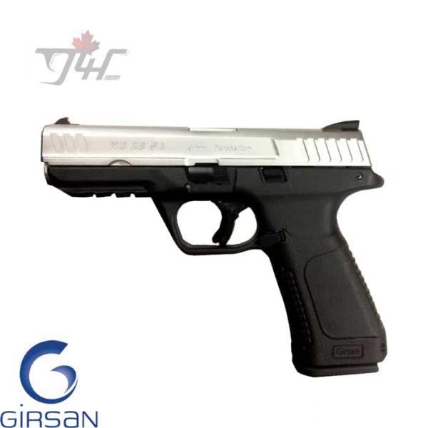 Girsan MC 28 SA 9mm 4.25″ BRL Black Stainless