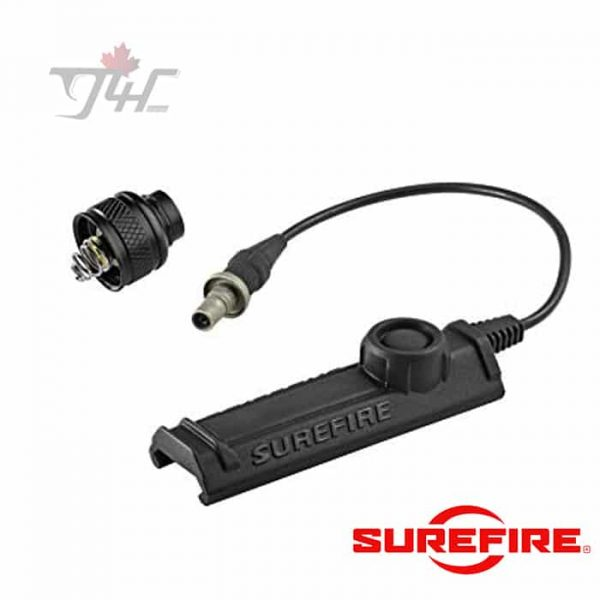 Surefire-UE-SR07-BK-Rail-Mount-Tape-Switch-Tail-Cap-BLK