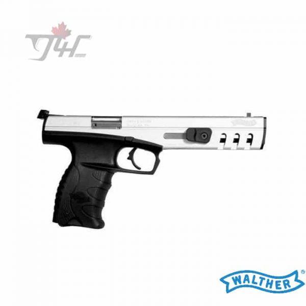 Walther SP22 2M .22LR 6″ BRL StainlessBlack