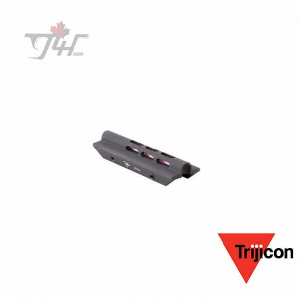 Trijicon SH03-R TrijiDot Red Fiber Optic Shotgun Sight Large Housing