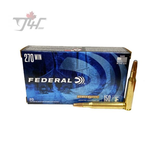 Federal Power-Shok .270WIN 150gr. SPRN 20rds