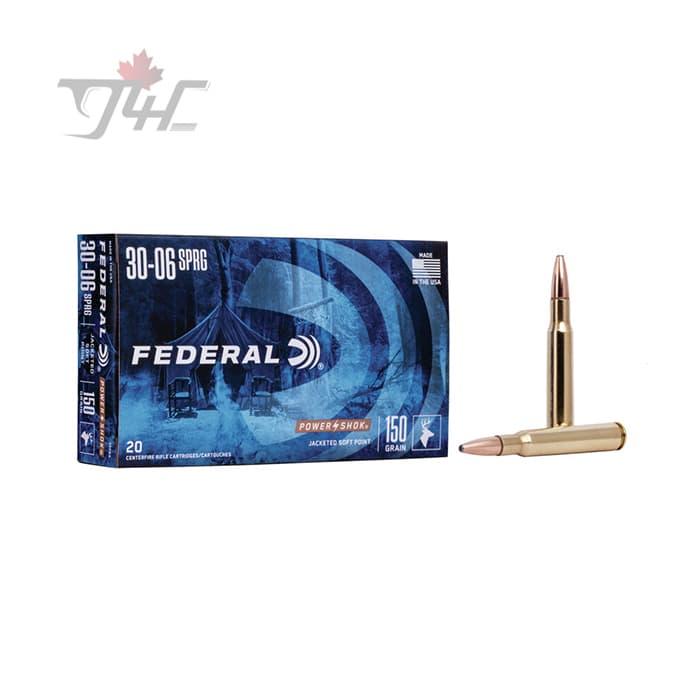 Federal Power-Shok 30-06SPRG 150gr. SP 20rds