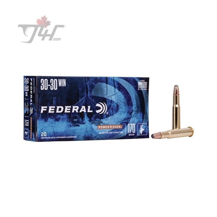 Federal Power-Shok 30-30WIN 170gr. SPRN 20rds