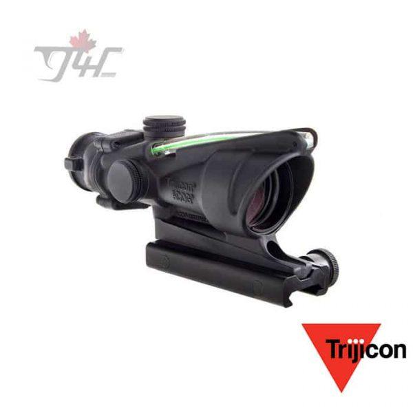 Trijicon ACOG (TA31-CH-G) 4x32 .223 Ballistic Green Dual Illumination Crosshair with Flattop Mount-1