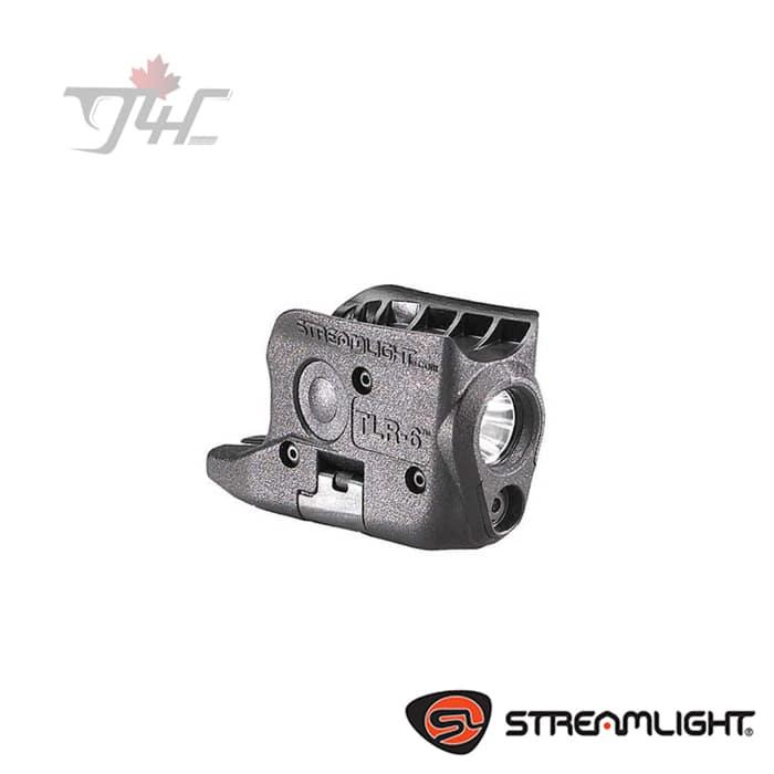 Streamlight TLR-6 Trigger Guard Light 100Lumens with Red Laser BLK (M&P)