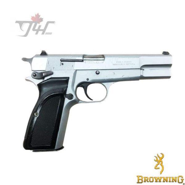 Browning Hi-Power Mark 3 Surplus 9mm Silver