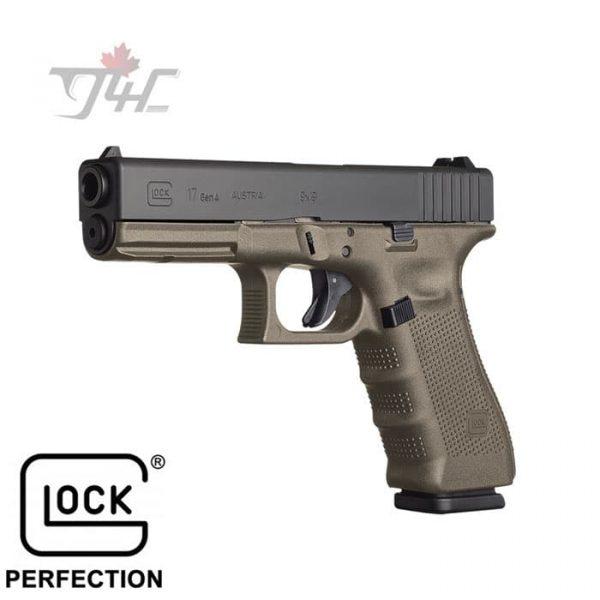 Glock-17-Gen4-MOS-9mm-4.5-BRL-OD-Green