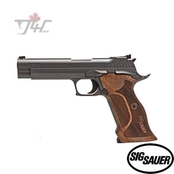 """Sig Sauer P210 Target 9mm 5"""" BRL Black"""