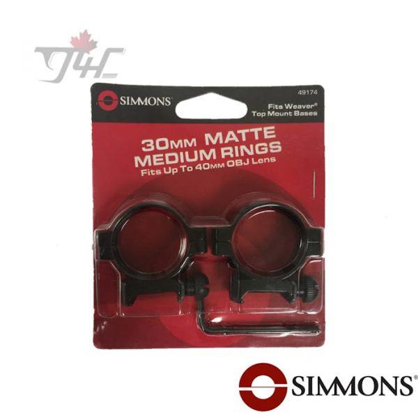 Simmons-30mm-Tube-Ring-Matte-High-new