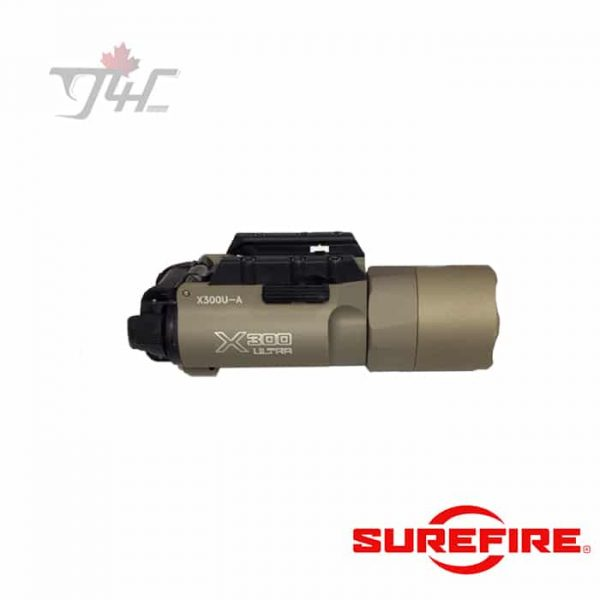 Surefire-X300U-Ultra-High-Output-Handgun-LED-Light-1000Lumens-TAN-new