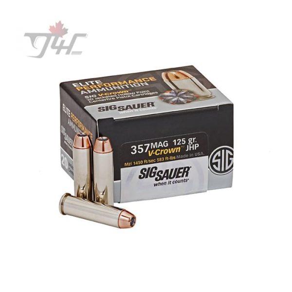 Sig Sauer Elite V-Crown .357MAG 125gr. JHP 20rds
