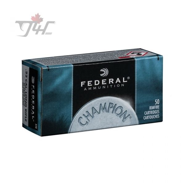 Federal Champion .22LR 40gr. Solid 50rds