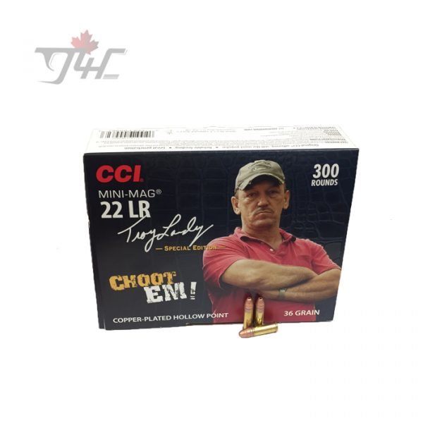 CCI .22LR Mini-Mag Troy Landry Special Edition Swamp People