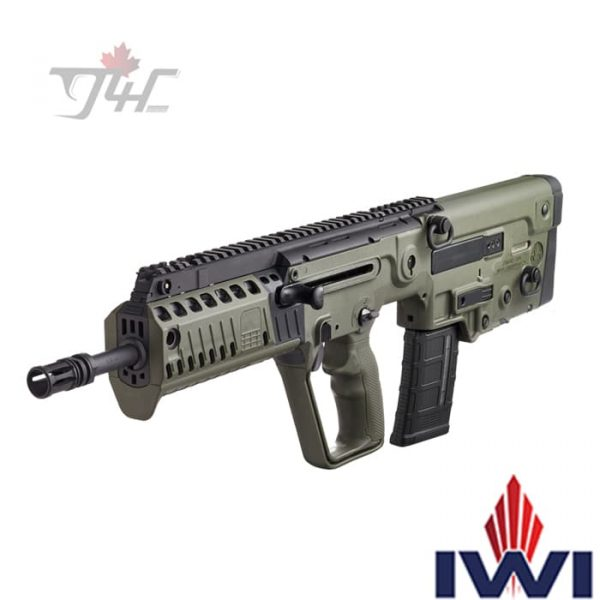 IWI-Tavor-X95-5.56NATO-18.6-BRL-OD-Green