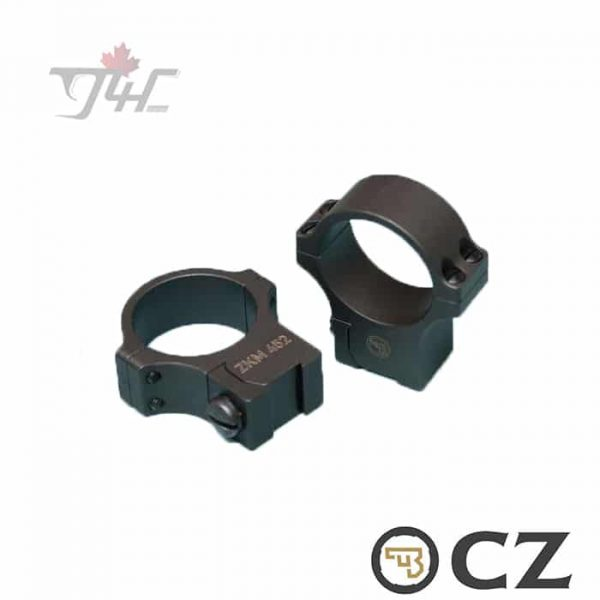 CZ-Mount-2-Part-30mm-Rings-for-CZ455-452