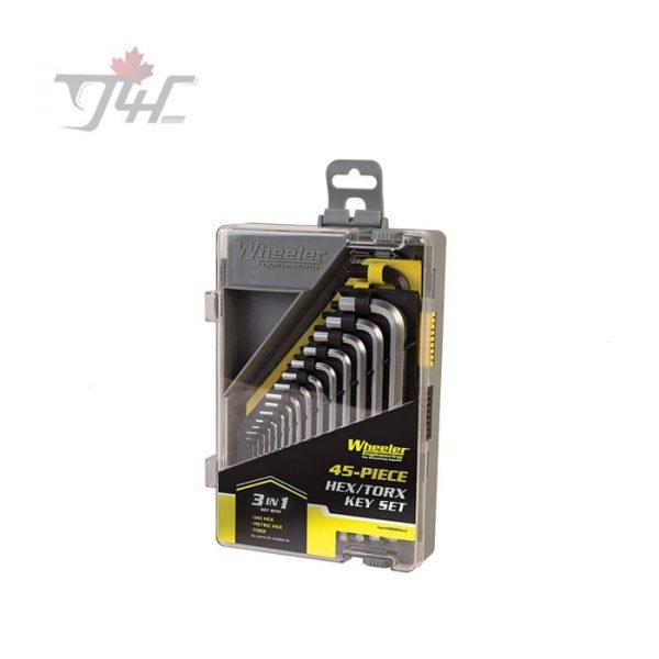 Wheeler Engineering 45-Piece Hax Torx Key Set
