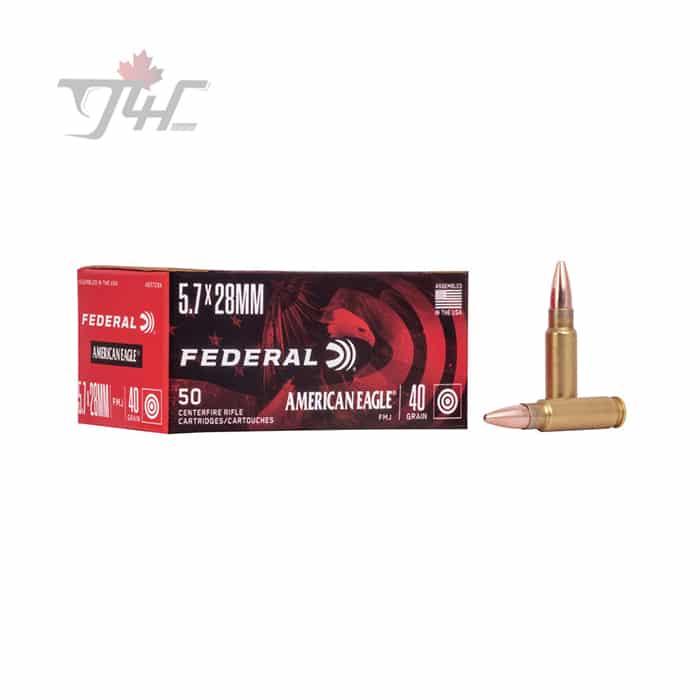 Fed. American Eagle 5.7x28mm 40gr. FMJ 50rds
