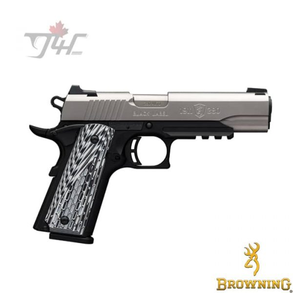 Browning-1911-380-Black-Label-Pro-Stainless-with-Rail
