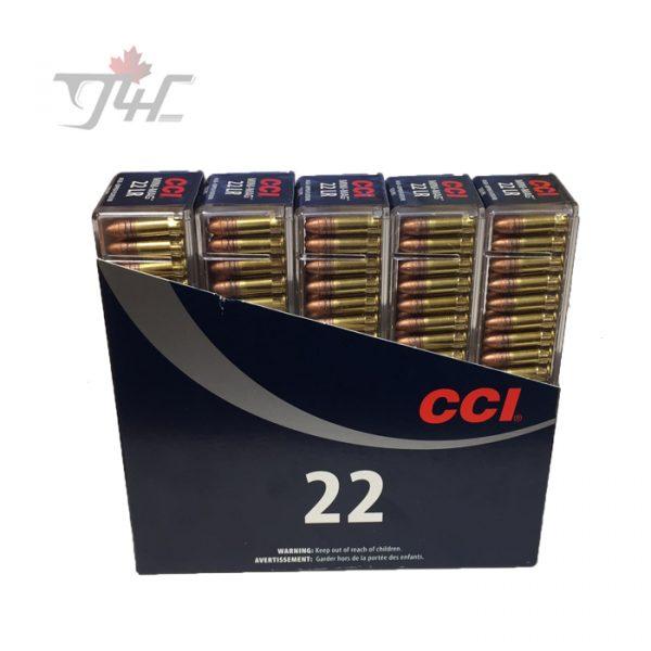 CCI .22LR Mini-Mag 40gr. CRN 500rds