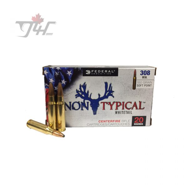 Federal Non-Typical Whitetail .308WIN 150gr. SP 20rds