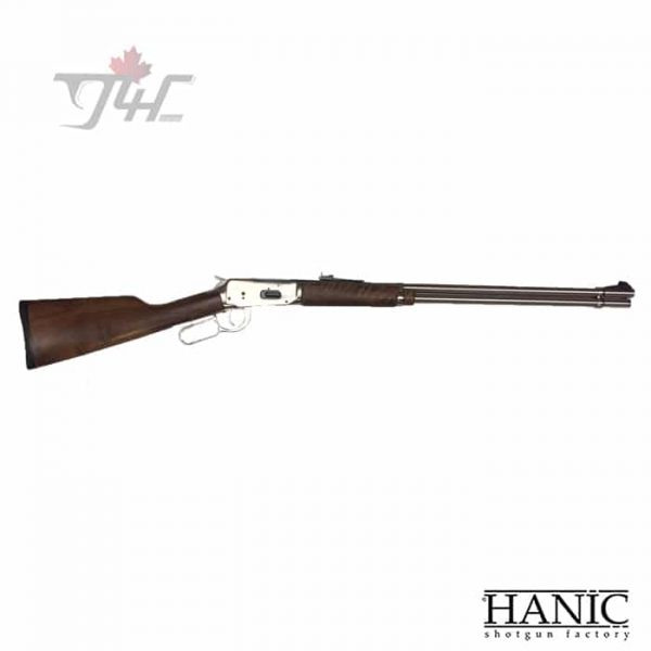 Hanic-L11Ni-Lever-Action-410Gauge-24-BRL-Nickel-Wood