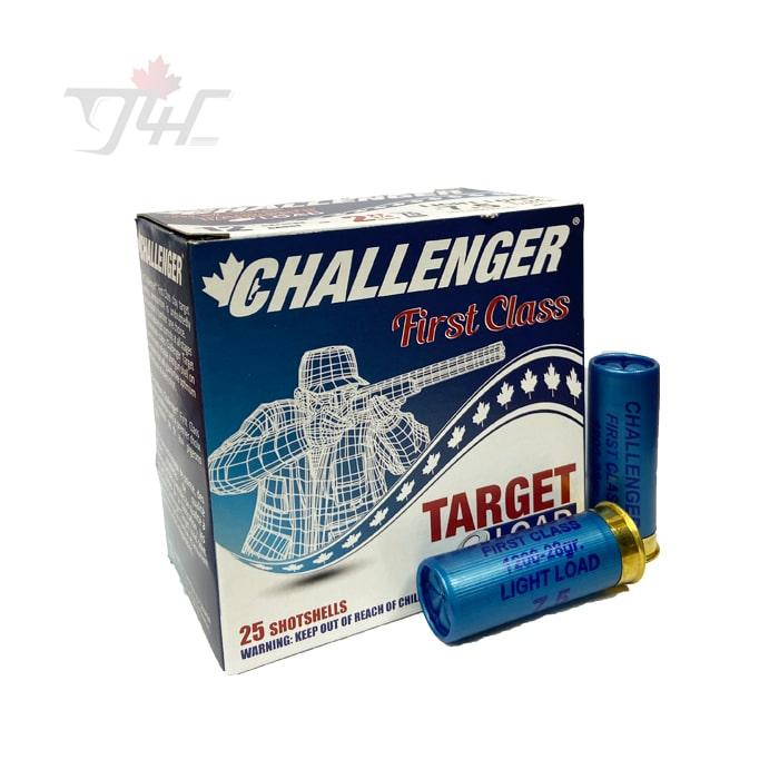 Challenger 12Gauge First Class Target Load 2-3/4inch 1oz. #7.5 Shot 25rds