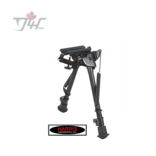Harris Series S Pivot Bipod 9'' - 13'' w/ Leg Notch & Swivel Stud Mount
