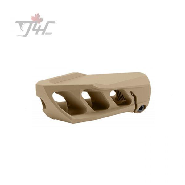 Cadex Defence MX1 Muzzle Brake (1-14 threads) for .50BMG Tan