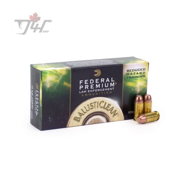 Federal Premium Law Enforcement .45Auto 155gr. RHT Ballisticlean 50rds